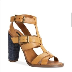 Calvin Klein Sabelle Leather Sandals